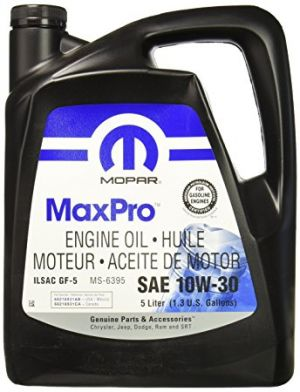 Mopar Engine Oil SAE 10W-30