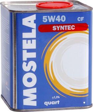 Mostela Syntec 5W-40 SN/CF