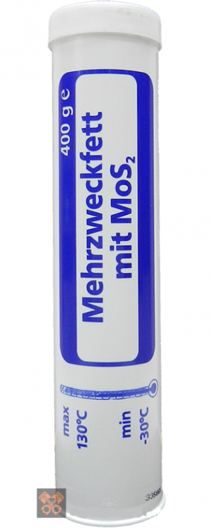 Многоцелевая смазка (литиевый загуститель и молибден) FOSSER Mehrzweckfett MoS 2