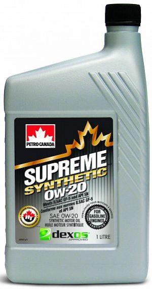 Petro Canada Supreme Synthetic 0W-20
