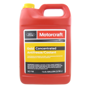 Motorcraft Gold Concentrated Antifreeze (-70C, желтый)