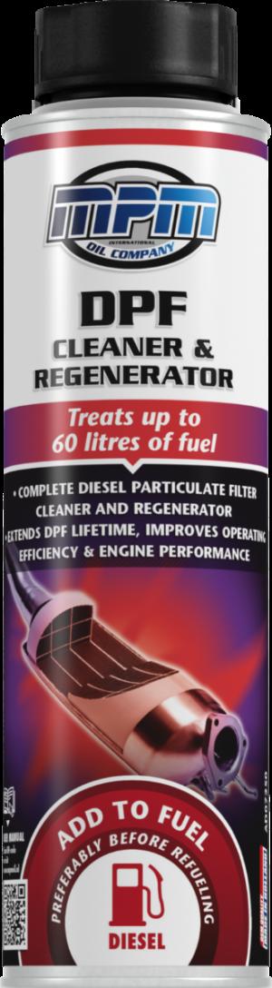 Присадка в дизтопливо (Очиститель сажевого фильтра) MPM DPF Cleaner & Regenerator