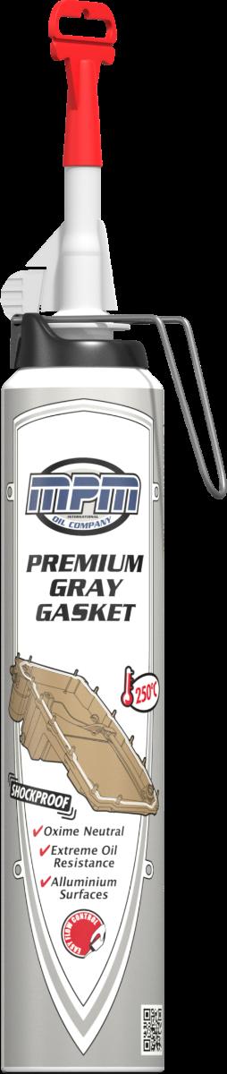 Герметик силиконовый (серый) MPM Premium Gray Gasket Pressure Pack