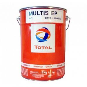 Многоцелевая смазка (кальциево - литиевый загуститель) Total Multis EP 2