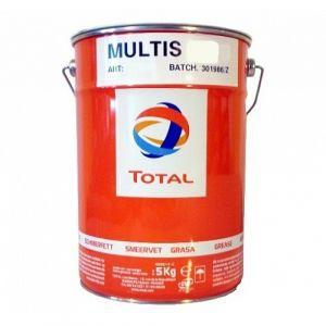 Многоцелевая смазка (кальциево - литиевый загуститель) Total Multis ZS 000