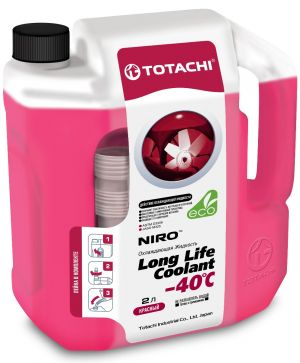 Totachi Niro Long Life Coolant (-40C, красный)