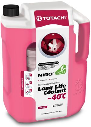 Totachi Niro Long Life Coolant Red -40C