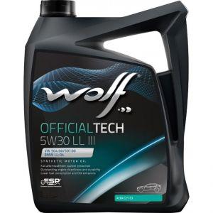 Wolf Official Tech 5W-30 LL III