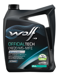Wolf Official Tech 0W-20 MS-MFE