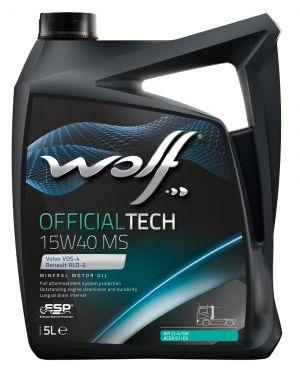 Wolf OfficialTech 15W-40 MS