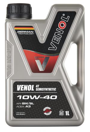 Venol Semisynthetic 10W-40 4T
