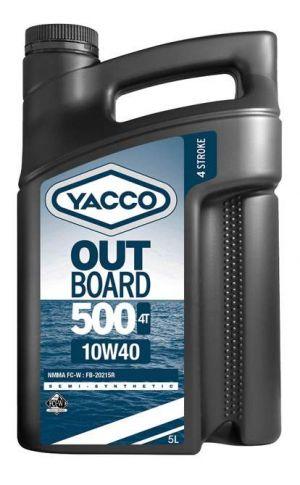 YACCO OUTBOARD 500 4T 10W-40