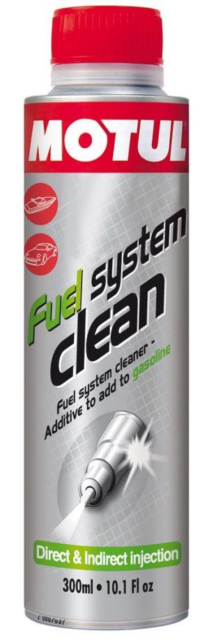 Присадка в бензин (очиститель топливной системы) MOTUL Fuel System Clean