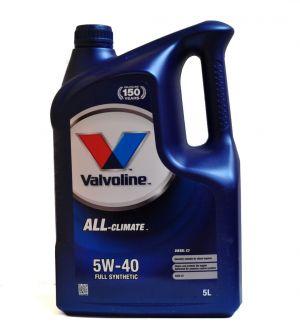 VALVOLINE All Climate Diesel C3 5W-40