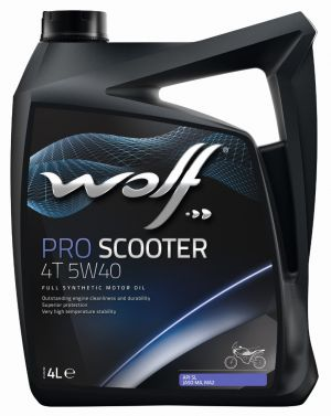 Wolf Pro Scooter 4T 5W-40