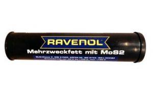 Многоцелевая смазка (литиевый загуститель и молибден) RAVENOL Mehrzweckfett mit MoS-2