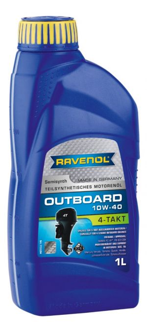 RAVENOL Outboardoel 4T SAE 10W-40
