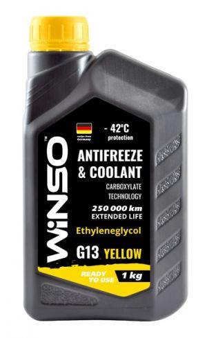 Winso Antifreeze & Coolant G13 (-42C, желтый)