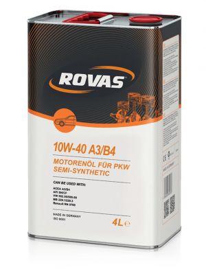 Rovas 10W-40 A3/B4