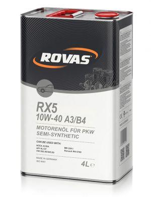 Rovas RX5 10W-40 A3/B4