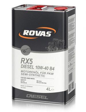 Rovas RX5 Diesel 10W-40 B4