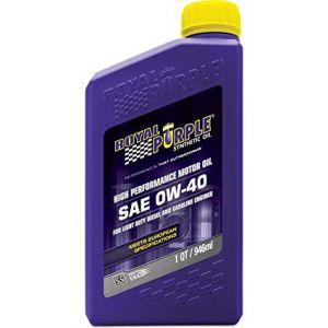 Royal Purple API-LICENSE MOTOR OIL 0W-40