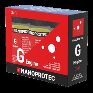 Присадка в масло моторное (дополнительная защита) Nanoprotec G-Engine 3 IN 1