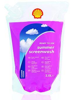Shell Summer Screenwash