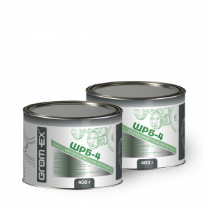 Многоцелевая смазка (литиевый загуститель и молибден) Grom-Ex ШРБ-4