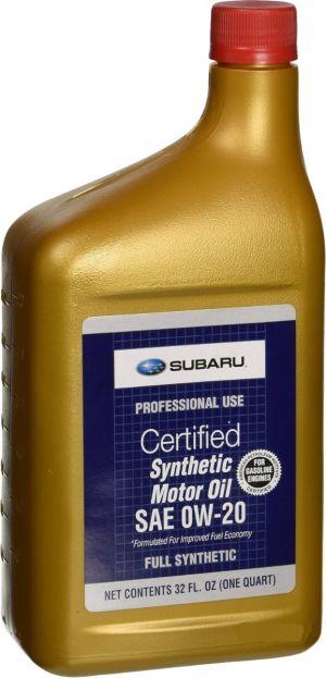 Subaru Synthetic Motor Oil SAE 0W-20