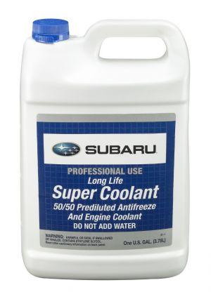 Subaru Long Life Super Coolant Pre-Mixed (-52С, синий)