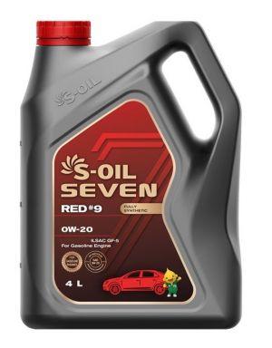 S-OIL 7 RED #9 SN Plus 0W-20