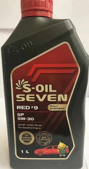 S-OIL 7 RED #9 SP 5W-30