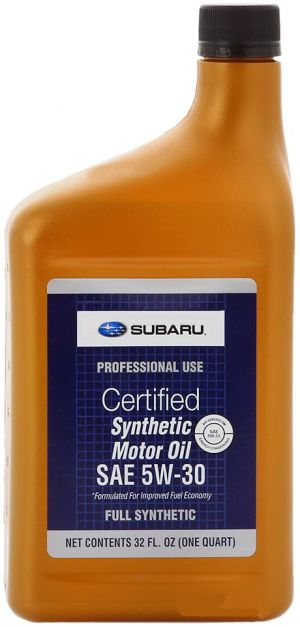 Subaru Synthetic Motor Oil 5W-30