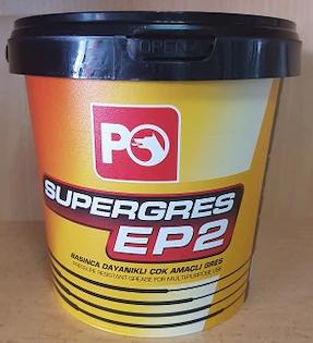 Многоцелевая смазка (литиевый загуститель) Petrol Ofisi Super Grease EP-2