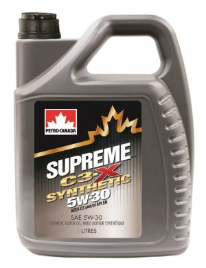 Petro Canada Supreme C3-X Synthetic 5W-30