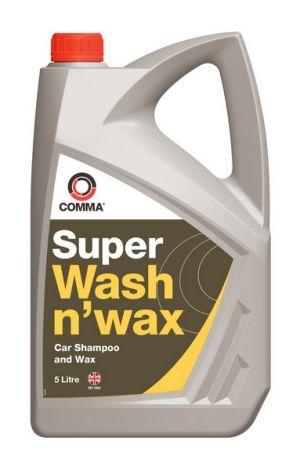 Шампунь с воском Comma Super Wash n' Wax