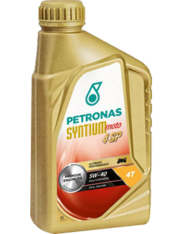 PETRONAS Syntium Moto 4SP 5W-40 4T