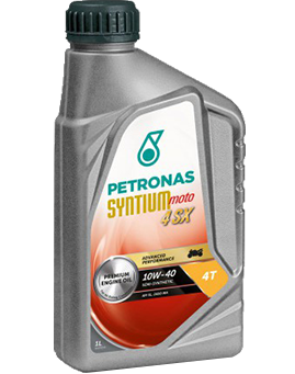 PETRONAS Syntium Moto 4SX 10W-40 4T