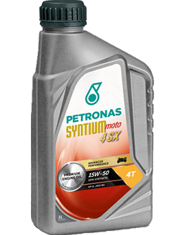 PETRONAS Syntium Moto 4SX 15W-50 4T