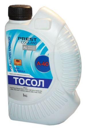 Prest Coolant Тосол А-40 (-35C, синий)
