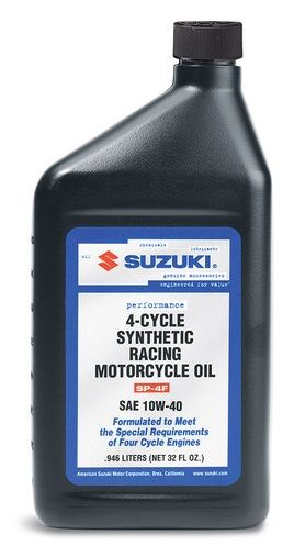 Suzuki 4-Cycle Motorcycle Engine Oil 10W-40