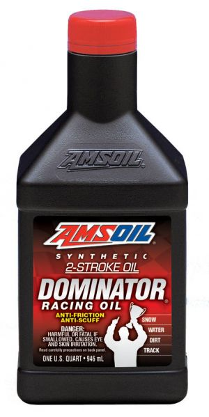 Amsoil Dominator Synthetic Racing Oil 2T