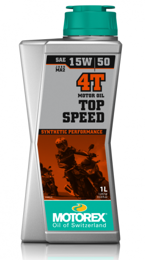 Motorex Top Speed 4T 15W-50