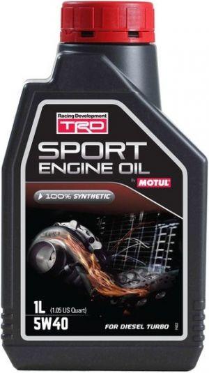TRD Sport Engine Oil 5W-40 Turbo Diesel
