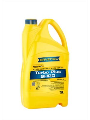 RAVENOL Turbo plus SHPD SAE 15W-40
