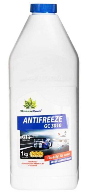 Greencool Antifreeze GC 3010 (-35C, синий)