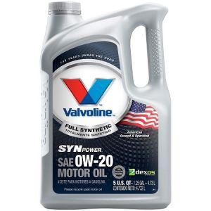 Valvoline SynPower Full Synthetic 0W-20
