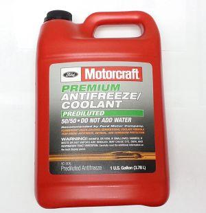 Motorcraft Premium Prediluted Antifreeze (-37C, зеленый)