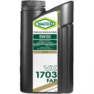 YACCO VX 1703 FAP 5W-30